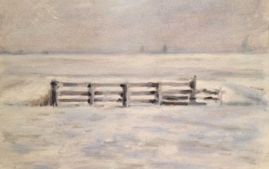 Sneeuwlandschap Wommels