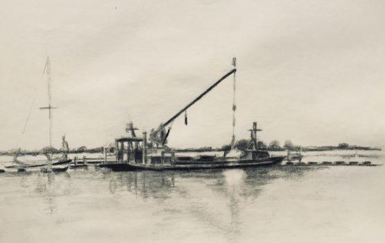 Werkboot haven Schildmeer